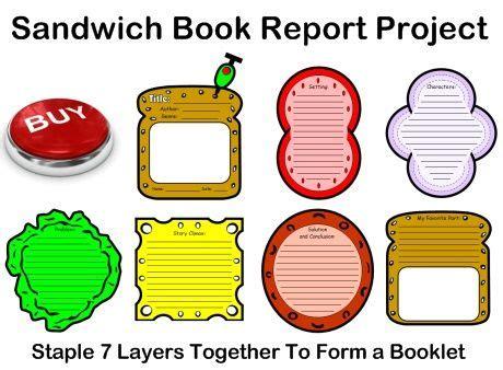 Non-Fiction Book Report Graphic Organizer Printouts
